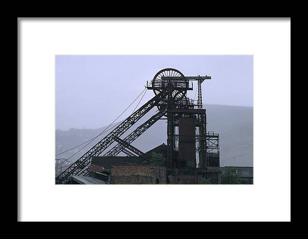 Nostalgia Framed Print featuring the photograph Mining History by Shaun Higson