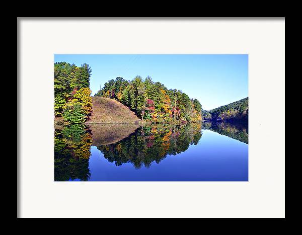 Landscape Framed Print featuring the photograph Mirror Image by Susan Leggett
