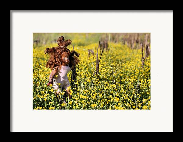 Missing You Framed Print featuring the photograph Missing You II by JC Findley