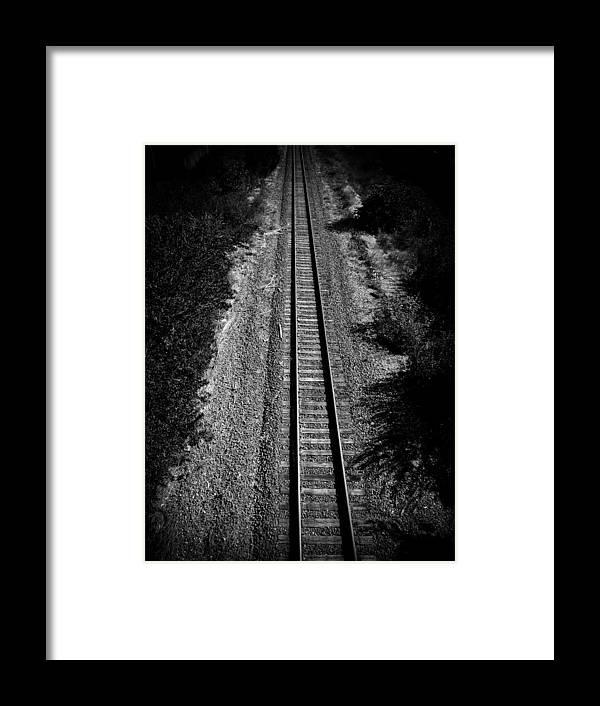 Railway Framed Print featuring the photograph Missouri Pacific Railway by Mauricio Jimenez