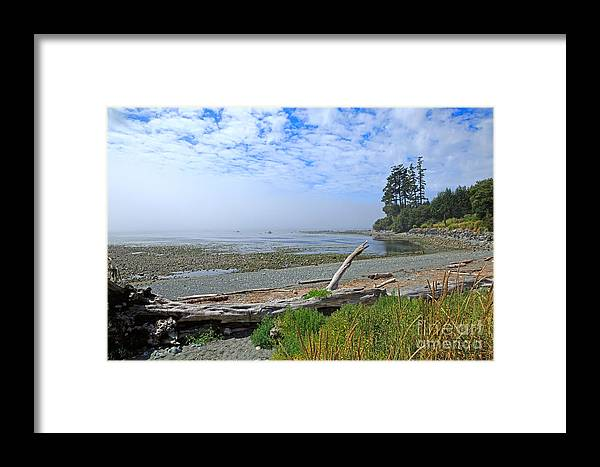 Fog Framed Print featuring the photograph Mist On The West Coast by Louise Heusinkveld