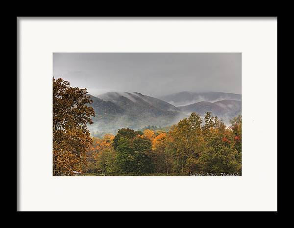 Mountains Framed Print featuring the photograph Misty Morning Iv by Charles Warren