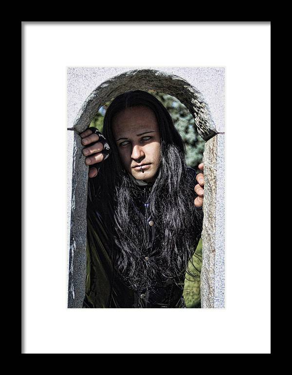 Man Framed Print featuring the photograph Misunderstood by David Sanchez