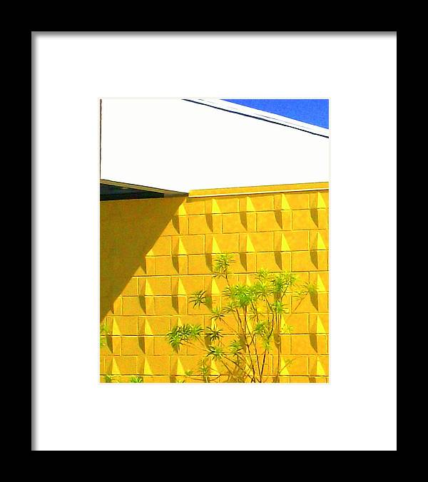 Modern Architecture Framed Print featuring the photograph Mod Squad 2 by Randall Weidner