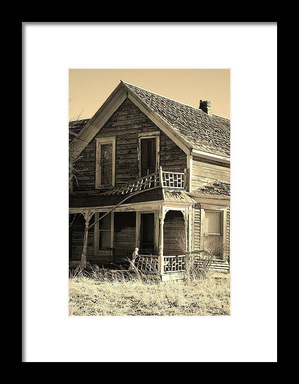 Western Framed Print featuring the photograph Montana Last Breath by William Kelvie