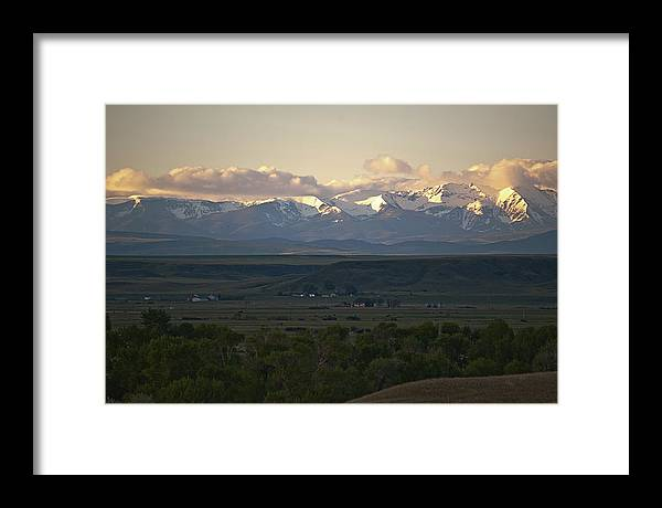Montana Framed Print featuring the photograph Montana Sunrise by Don Saxon