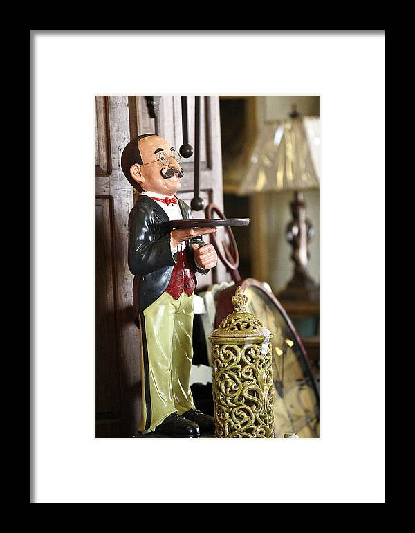 Doll Framed Print featuring the photograph Monty by Elizabeth Hart
