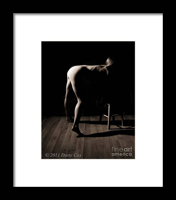 Black And White Framed Print featuring the photograph Moon Light by Dusty Cox