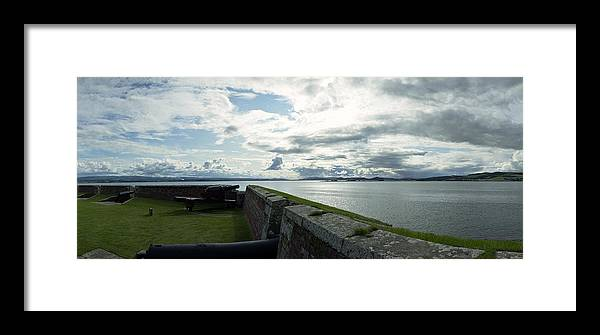 Firth Framed Print featuring the photograph Moray Firth From Fort George by Jan W Faul