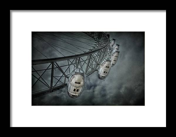 London Framed Print featuring the photograph More Then Meets The Eye by Evelina Kremsdorf