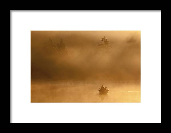 Joseph Rossbach Framed Print featuring the photograph Morning Catch by Joseph Rossbach