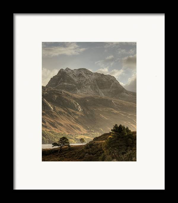 Scotland Framed Print featuring the photograph Morning Glory by Colette Panaioti