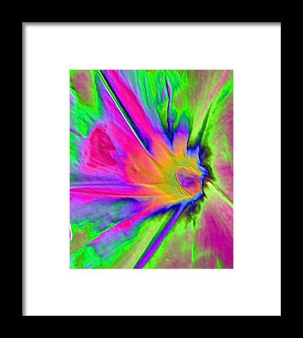 Flower Framed Print featuring the photograph Morning Glory by Kent Dunning