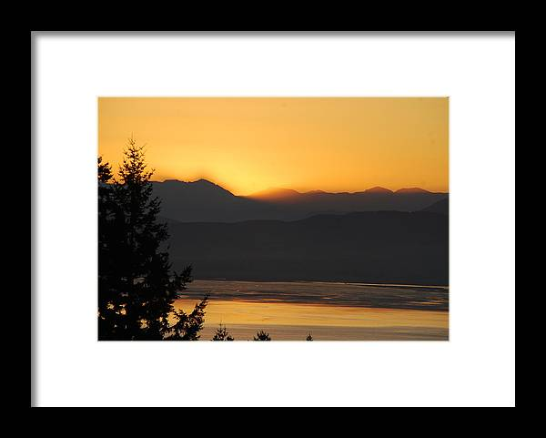 Morning Framed Print featuring the photograph Morning Has Broken by Michael Merry