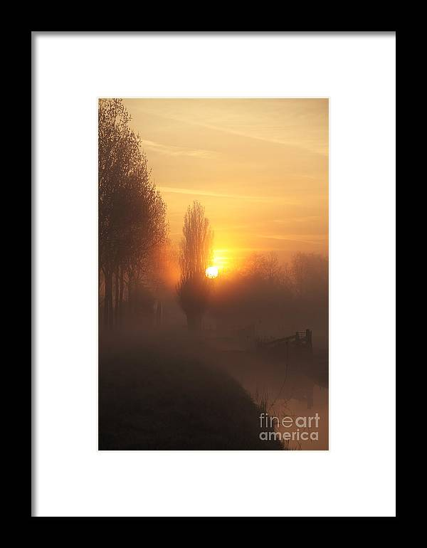 Sunrise Framed Print featuring the photograph Morning Moods by LHJB Photography