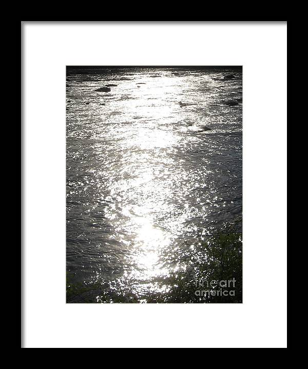 Richmond Va Framed Print featuring the photograph Morning on the River by Nancy Dole McGuigan