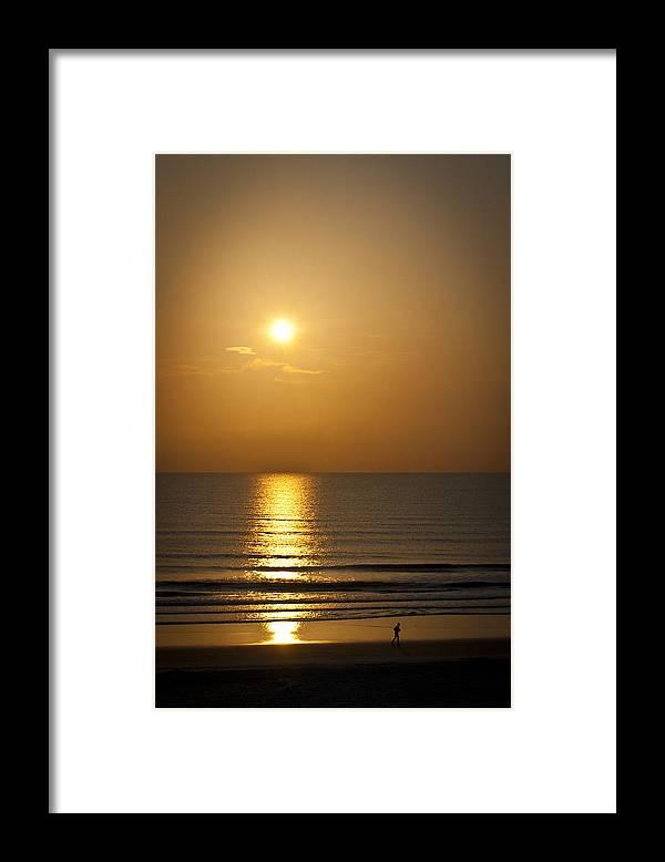 Run Framed Print featuring the photograph Morning Run by Nicholas Caputo