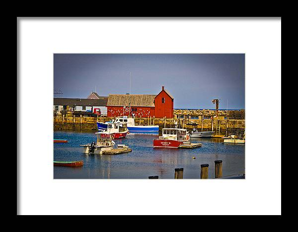 Landscape Framed Print featuring the photograph Motif 1 by Erica McLellan