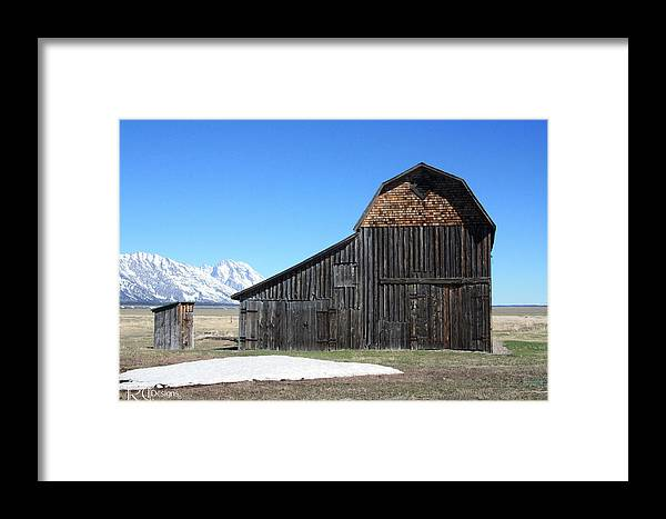 Moulton Framed Print featuring the photograph Moulton Ranch 3 by Rick Thiemke