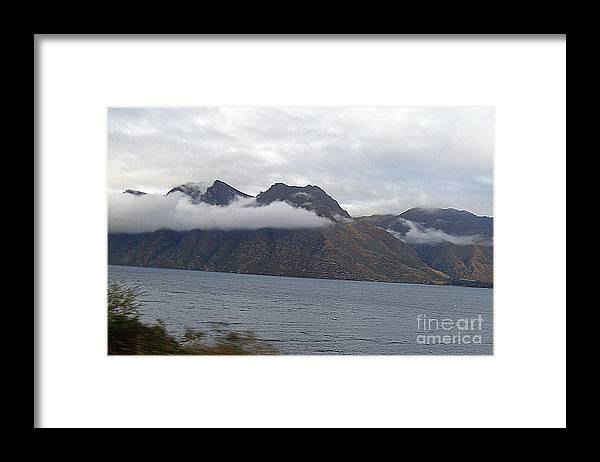 Clouds Framed Print featuring the photograph Mountain Clouds by Louise Peardon