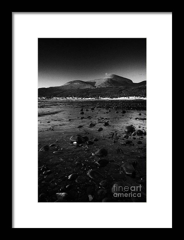 Newcastle Framed Print featuring the photograph Mourne Mountains Newcastle County Down Northern Ireland by Joe Fox