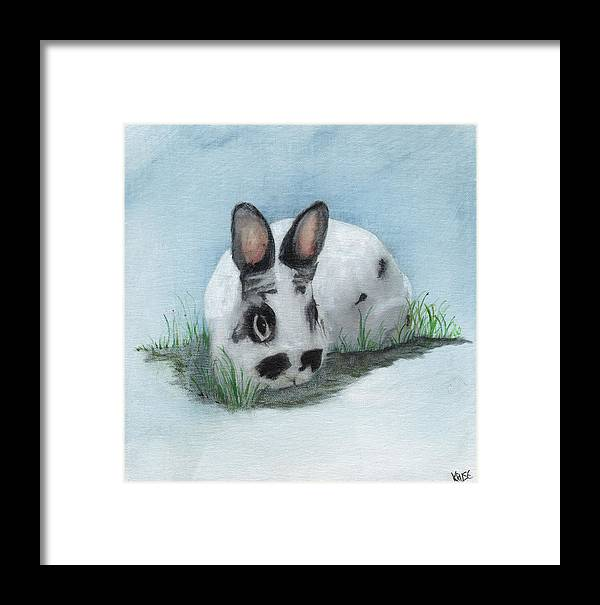 James Framed Print featuring the painting Mouse by James Kruse