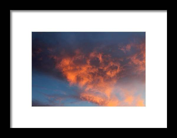 Clouds Framed Print featuring the photograph Mr. Owl by Kathleen Nash