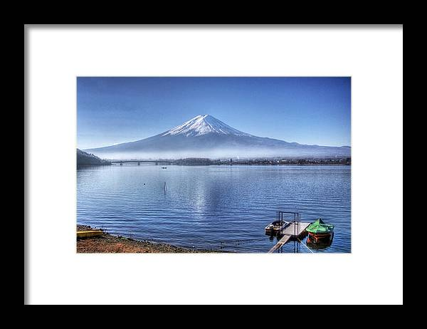 Mountain Framed Print featuring the photograph Mt Fuji by Kean Poh Chua