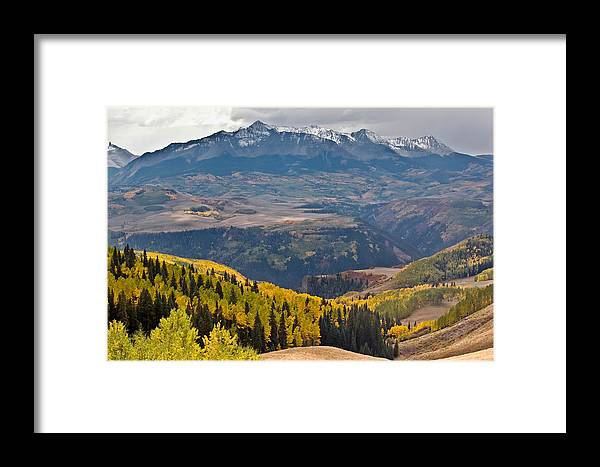 Mt. Wilson Framed Print featuring the photograph Mt. Wilson by Jennifer Grover