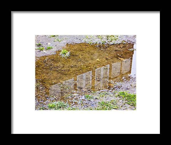 Philadelphia Framed Print featuring the photograph Mud Home by Kathleen Foy