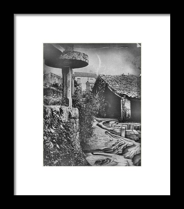 Rice Framed Print featuring the mixed media Muros Rice Storage 1982 by Glenn Bautista