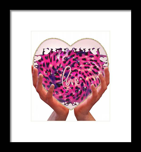 Heart Framed Print featuring the photograph My Heart Is Forever Yours by Amanda Comanescu