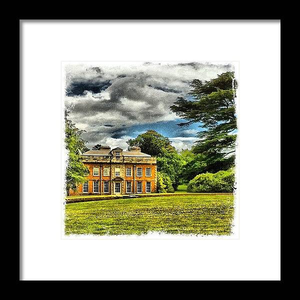 Building Framed Print featuring the photograph My House by Mark B
