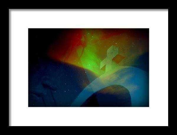 Jesus Framed Print featuring the photograph My Power.. by Al Swasey