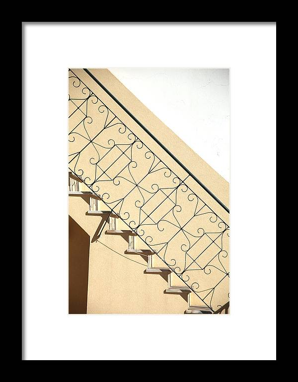 Jezcself Framed Print featuring the photograph My Way Up by Jez C Self