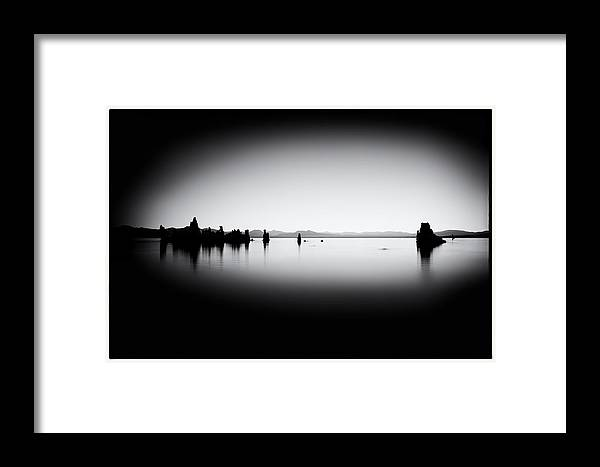 Mono Lake Framed Print featuring the photograph Mysterious Mono Lake by Tanya Harrison