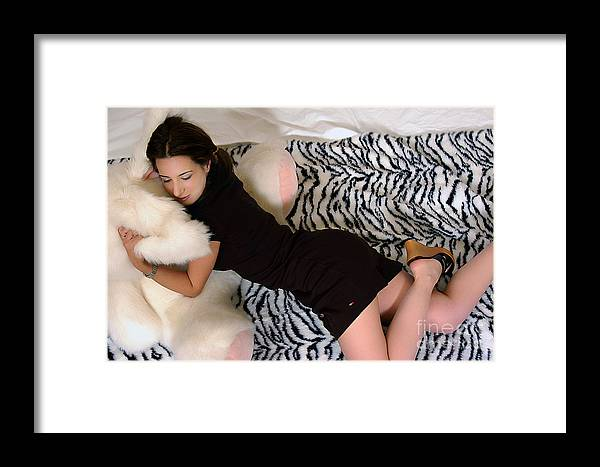 Clay Framed Print featuring the photograph Nap Time by Clayton Bruster