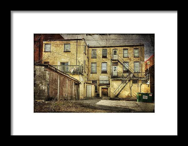 Acrylic Prints Framed Print featuring the photograph Napanee High Rise by John Herzog