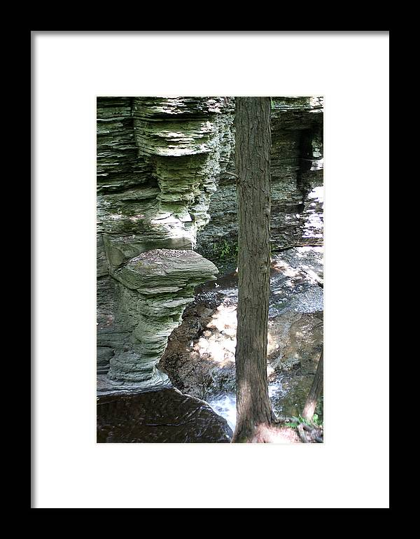 Cliff Framed Print featuring the photograph Natures Throne by Virginia Pakkala