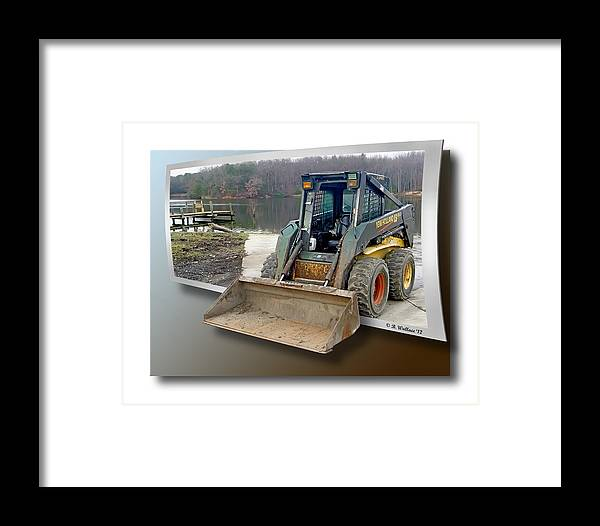 2d Framed Print featuring the photograph Need A Lift by Brian Wallace