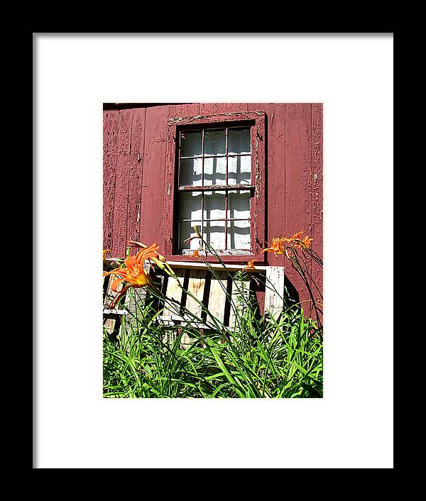 Rustic Framed Print featuring the photograph Needs Painted by Mark Sellers