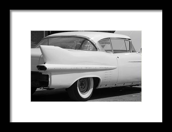 1950 Framed Print featuring the photograph Needs Work In Black And White by Rob Hans