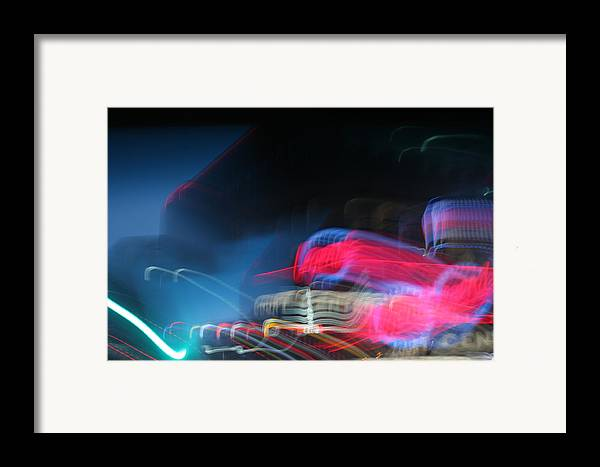 Neon Framed Print featuring the photograph Neon Nights by Rick Rauzi
