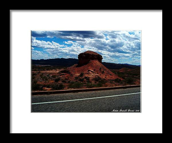 Nevada Usa Framed Print featuring the photograph Nevada Usa by Danielle Parent