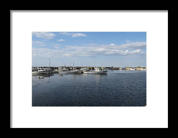 Harbour Framed Print featuring the photograph New Brunswick Harbour by Gord Patterson