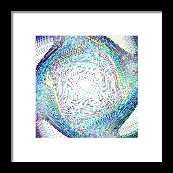 Abstract. Twist Framed Print featuring the photograph New York Abstract 027 by Rrrose Pix