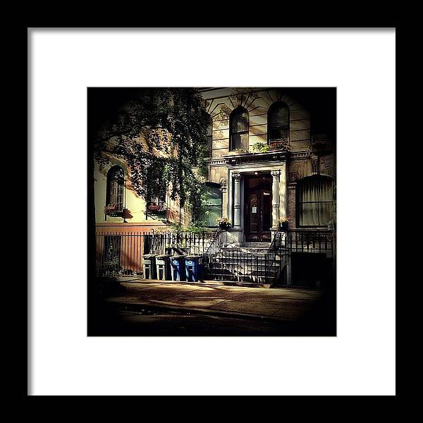 New York City Framed Print featuring the photograph New York City - East Village by Vivienne Gucwa