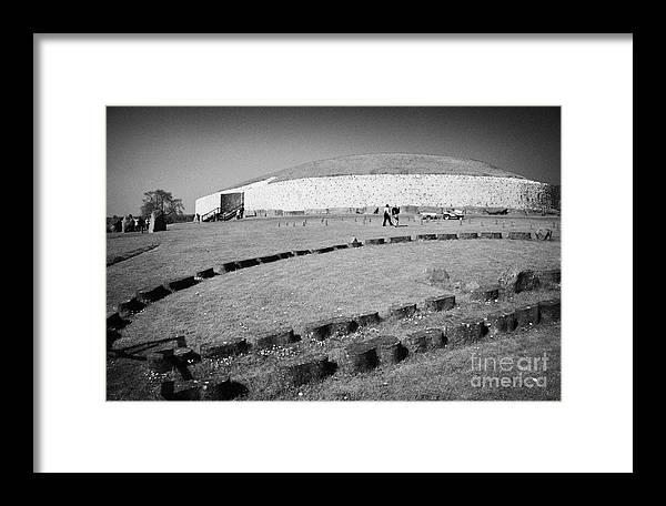 Europe Framed Print featuring the photograph Newgrange Bru Na Boinne Site by Joe Fox