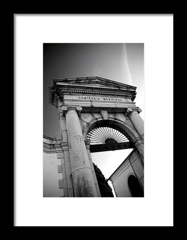 Jezcself Framed Print featuring the photograph Next Step by Jez C Self