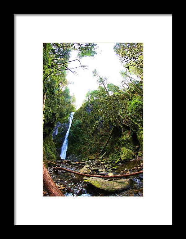 Waterfalls Framed Print featuring the photograph Niagara Falls At Goldstream by Erica Rieger